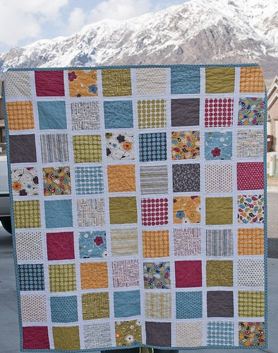 Make Life Baby Quilt for Megan