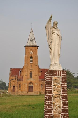 Cathllic Church in Lisala