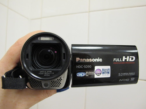 Unboxing: Panasonic HDC-SD90