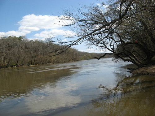 Campbell Creek empties into Cape Fear River