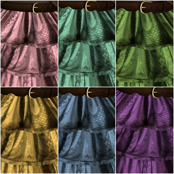 The Secret Store - Froufrou skirt - Fatpack