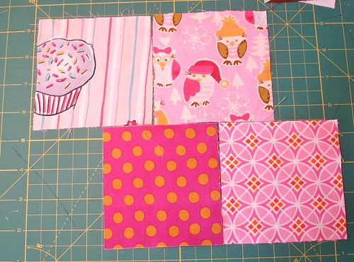 Altered Four Square Quilt Block Tutorial: Positioning of Both Pairs
