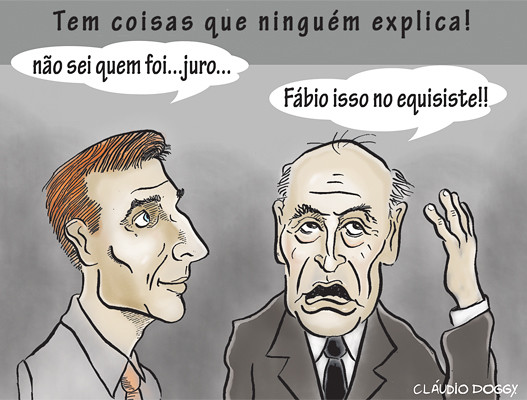 Charge para a coluna et cetara 240311 - Jornais  Jornais Tribuna do Paran Paran Online e O Estado do Paran Online by claudio Doggy
