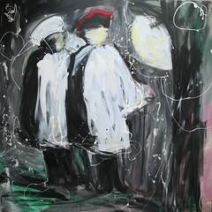 óleo sobre lienzo (arteneoexpresionista) Tags: rando jorge figuras pinturas neoexpresionismo