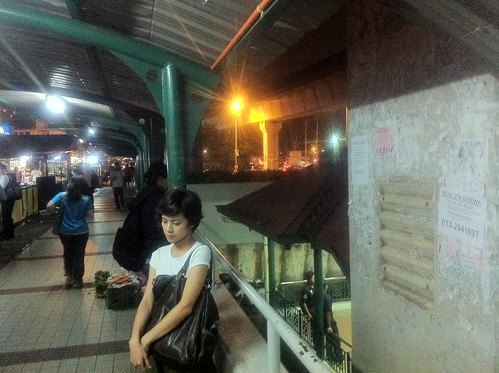 Ley Teng at Wangsa Maju LRT station 2