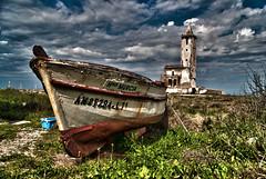 la barca (areks2006) Tags: miguel de cabo san torre iglesia gata garcia almeria