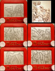 Laocoon etch a sketch (Princess Etch a Sketch) Tags: ohio sculpture art statue greek sketch etch laocoon etchasketch ohioart