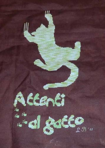 """""""Attenti al gatto"""" from Rovaris"""