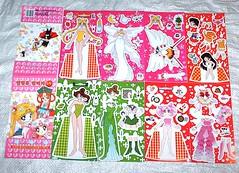 SAILOR MOON Paper Dolls Exploded (Cruioso) Tags: anime japanese doll chibi cartoon animation paperdoll 1990s sailormoon 90s rini paperdolls sailorscouts magicalgirl chibiusa chibimoon senshi sailormars sailorjupiter セーラームーン prettysoldier smalllady
