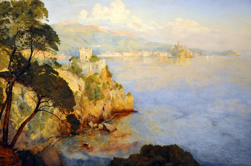 Henry Newman - Gulf of Spezia at Boston Museum of Fine Art