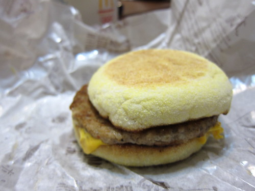 sausage mcmuffin