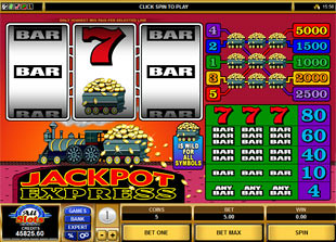 Jackpot Express slot game online review