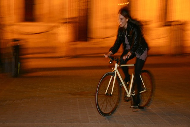 Fixie by night