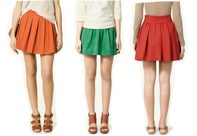 zara skirts