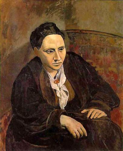 Pablo Picasso - Retrato de Gertrude Stein - 1906