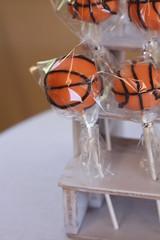 Basketball Cake pops (sugardiva cakes) Tags: basketball cake pops