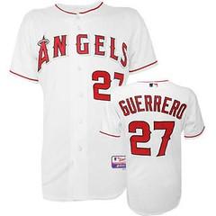 Los Angeles Angels of Anaheim #27 Vladimir Guerrero White Jersey (Terasa2008) Tags: jersey losangelesangels  cheapjerseyswholesale cheapmlbjerseys mlbjerseysfromchina mlbjerseysforsale cheaplosangelesangelsjerseys