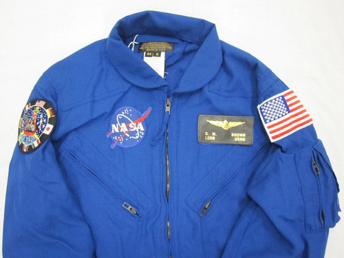 2007-5-44 Uniform, Flight Suit, NASA, Captain  David. M. Brown