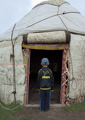 Boy with Pama shirt, Saralasaz Jailoo, Kyrgyzstan (Eric Lafforgue) Tags: boy people male childhood vertical youth standing person one kid asia exterior child fulllength entrance tent hut yurt innocence housing centralasia kyrgyzstan humanbeing nomads oneperson backview colorphoto kyrgyzrepublic kirghizistan kirgistan 1583 kirghizstan kirgisistan  nomadiclifestyle   saralasazjailoo quirguizisto
