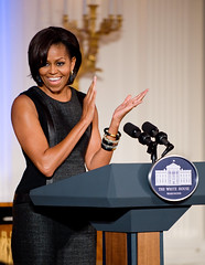Michelle Obama (noamgalai) Tags: girls usa washington president whitehouse talk speech firstlady noamgalai michelleobama sitemain siteportraits