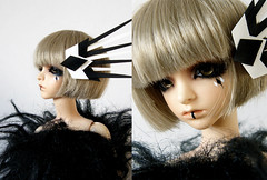 (-Sebastian Vargas-) Tags: ball fur toys doll makeup wig blonde annie bjd resin jointed faceup dollzone