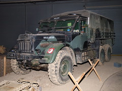 Albion CX22S Heavy Artillery Tractor (Megashorts) Tags: uk england tractor museum truck military flash olympus helen lorry duxford vehicle artillery british inside e3 heavy zuiko cambridgeshire albion imperialwarmuseum iwm zd 1454mm landwarfare cx22s fl50r utp68k ppdcb4