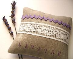 Lavande - Scented Sachet (floria@net) Tags: france flower floral purple handmade linen lavender pillow provence lavande scented sachet lamaisondefloria