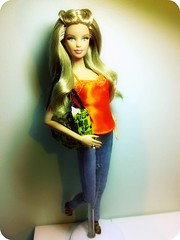 I love how her Hair came out! =D (Alberto.Gar) Tags: model barbie 20 basics 001 collector demin