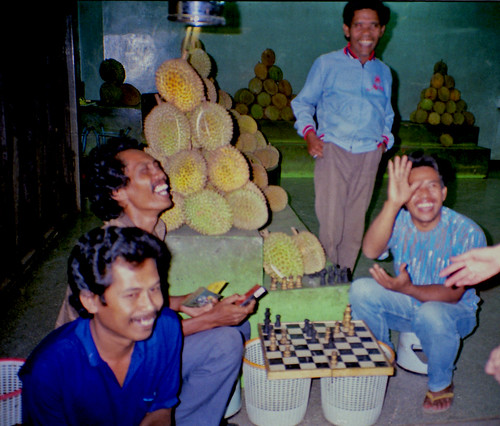 Chess & Durians - Bandung, Indonesia