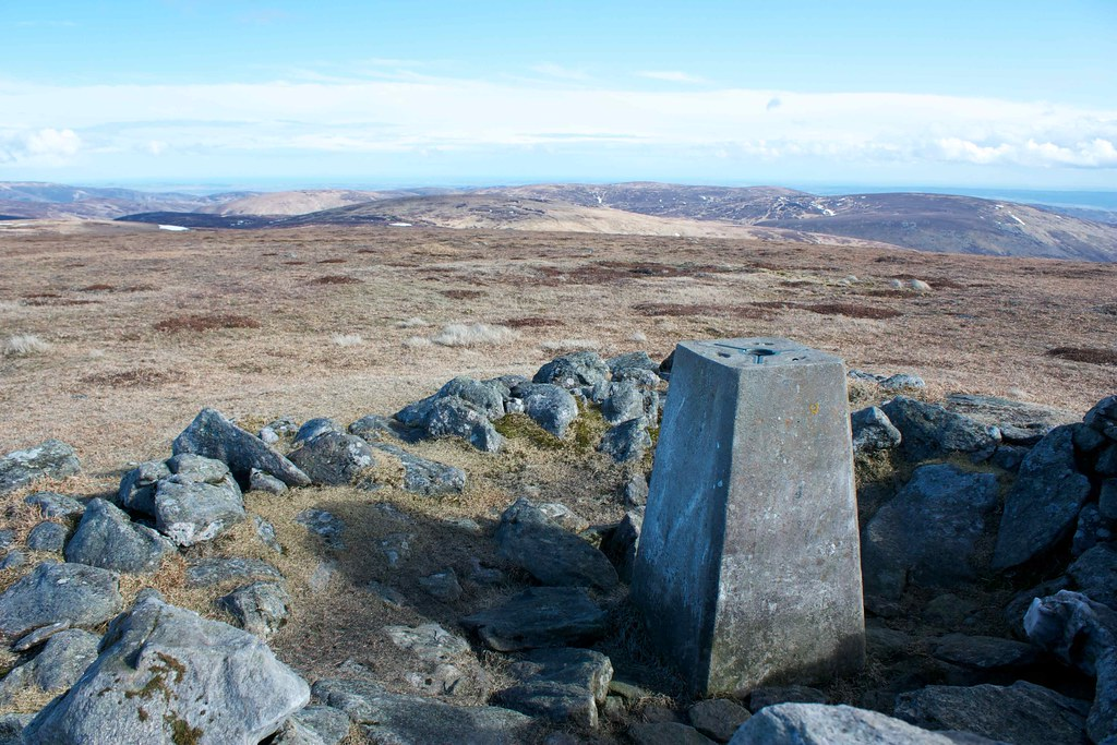 Trig point on The Goet