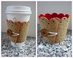 Cork Coffee Cozy