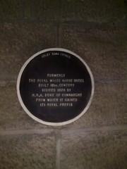 Photo of Arthur black plaque