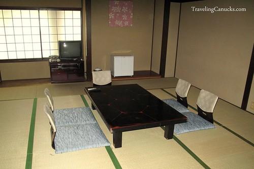 Traditional Ryokan Hotel in Kyoto, Japan