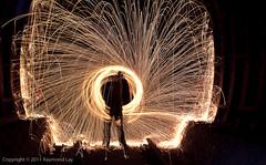 Wire Wool Vortex (Mondino1980) Tags: blue light shadow red 3 vortex man flower london wool wheel train fire dance jump wire rust track ghost orb 8 tunnel led raymond lay armed connaught mondino murphyz