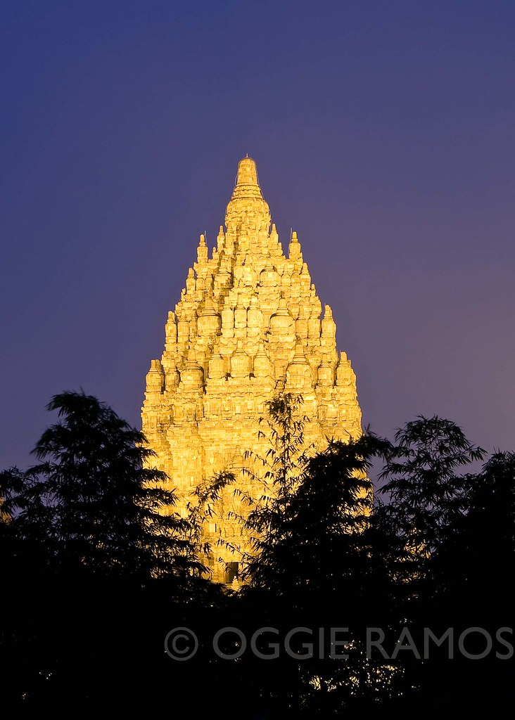 Indonesia - Prambanan Bamboo Lightscape II