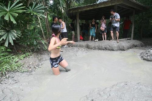 Rebecca - mud volcano pulau tiga sabah