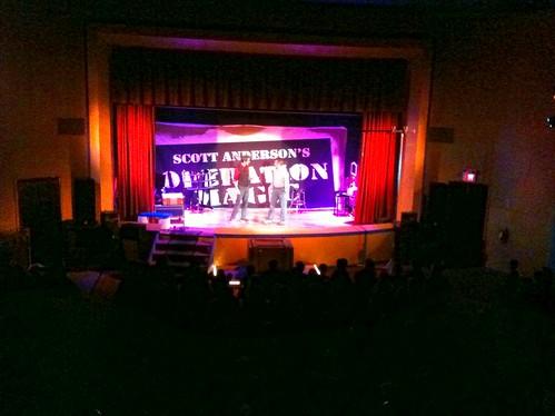 Old Liberty Theater in Ridgefield, WA
