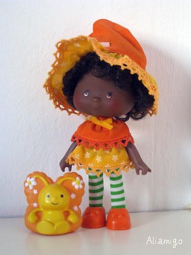 Tarta de Naranja y su mariposa Mermelada / Orange Blossom & Marmalade