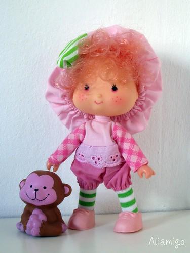 Mousse de Frambuesa y su mono Dátil / Raspberry Tart & Rhubarb