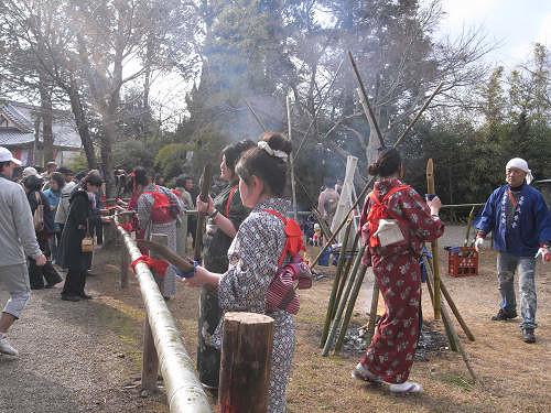 大安寺光仁会(笹酒祭り)-16