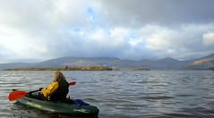 (Deborah Valentin) Tags: scotland kayaking lochlomond