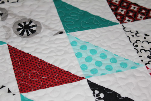 HST quilt close up