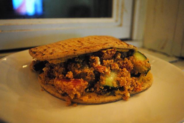 Mediterranean Flatbread Sandwiches II