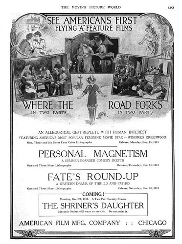 Flying A Films 1913
