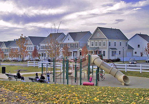 playground at King Farm (by: EPA Smart Growth)