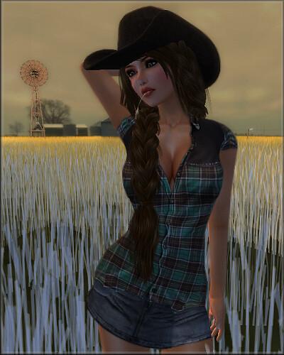 Lolita Oleander Farm Girl