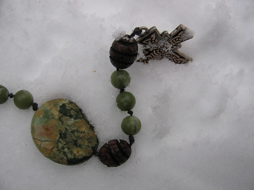 Rosary in Snow