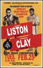 Sonny Liston vs Cassius Clay (BoxingMemories) Tags: ali clay muhammadali cassiusclay liston sonnyliston