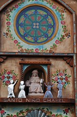 Santo Nino Detail (pam's pics-) Tags: newmexico church worship catholic christ god mary pray jesus adobe nm miracles holyplace northernnewmexico christmasroadtrip pammorris chimayonewmexico nikond5000 denverpam