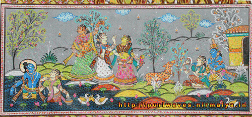 Gita Govinda – Divine love of Radha and Krisna